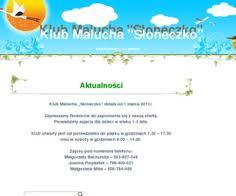 """Klub Malucha """"Słoneczko"""""""
